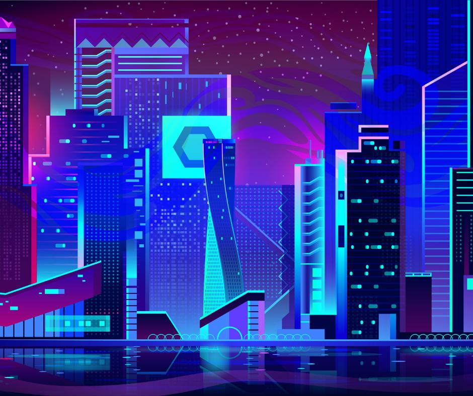 An artist's version of a digital world